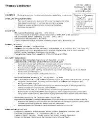 Sas Data Analyst Resume Sample Financial Analyst Resume Sample Canada Financial Analyst Resume