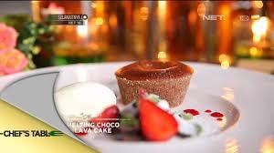 chocolava kukus melting choco lava cake acha sinaga chef u0027s table youtube