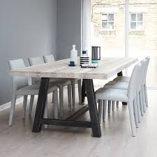 Baron Solid Oak Dining Room Pinterest Solid Oak And Baron - Metal dining room tables