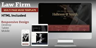 law firm muse template by k project themeforest