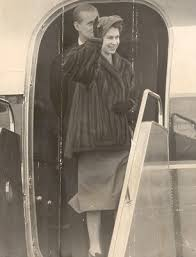 queen elizabeth ii beams after winning a a 98 voucher from the queen s sorrow after king george vi died aged just 56 revealed
