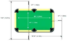 what are the dimensions of a regulation pool table bar size pool table cool regulation pool table size property the