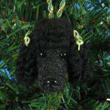 grey poodle reserved for bw gray felted snooty poodle by