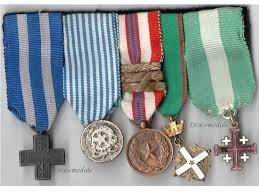 italy ww2 order italian merit war jerusalem cross medal set 1943