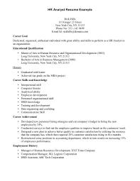 cover letter for hr internship resume