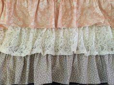 ugh too cute namely original diy ruffled crib skirt and wall