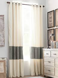 Drapery Stores Lengthen And Add Color To Store Bought Curtains By Sewing A Band