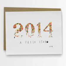 new year new address cards 14 cards to wish someone a happy new year design milk