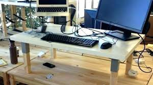 Adjustable Standing Desk Diy Standing Desk Diy Shippies Co