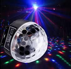 Disco Dj Stage Lighting Rgb Crystal Magic Ball Effect Light Dmx512