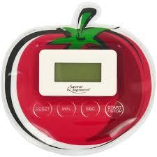 minuteur cuisine ectronique minuteur electronique magnet cuisine forme tendance tomate