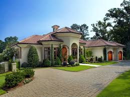 santa barbara style home plans one story mediterranean house plans home designs custom home