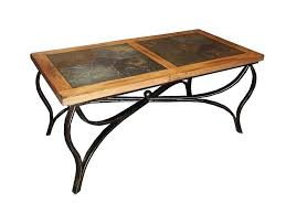 Slate Top Coffee Table Home Slate Top Console Table Finish Golden Oak Iron End Table With