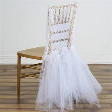 tutu chair covers buy party lace and tulle tutu chair covers bulk price
