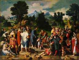 Blind Man At Bethsaida Artbible Org The Masterpieces Of Rubens Rembrandt Vincent Van