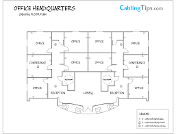tip 1 u2013 create a floor plan u2013 helpful cabling tips