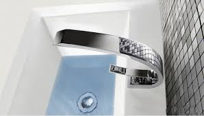 contemporary one handle one hole and cold water bathroom sink