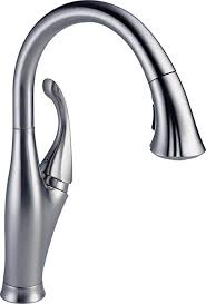 delta faucets kitchen delta faucet 9192 ar dst single handle pull kitchen