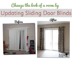 How To Make Roman Shades For French Doors - super easy home update replace those sliding blinds with a