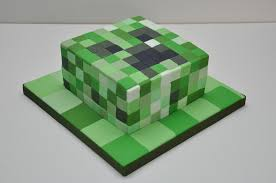 mine craft cakes minecraft creeper cake for an 11 year by finesse cakes