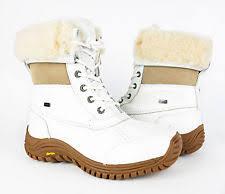 s ugg australia leather boots ugg australia adirondack ii waterproof event s boots white 8