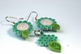 quilling earrings set earrings paper scissors and me