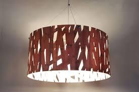 Wood Veneer Pendant Light La Forest Satellite La Forest Satellite Pendant Light