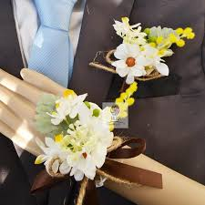 Boutonniere Prices 100 Fake Flower Corsage Wrist How To Make A Corsage And