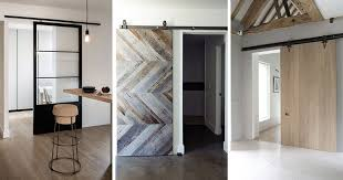 Examples Of Barn Doors In Contemporary Kitchens Bedrooms And - Bedrooms and bathrooms