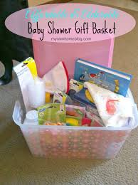 affordable gift baskets affordable baby shower gift basket my own home