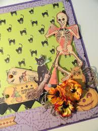 halloween scrapbook papers iloveminialbums halloween scrapbook layouts stash busting