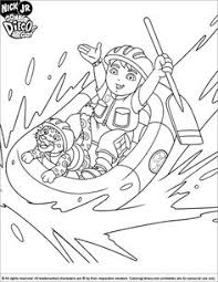 go diego go coloring page 1 kids coloring book pinterest
