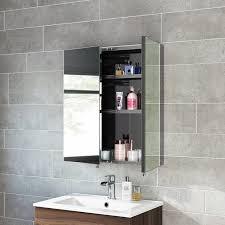 3 Door Mirrored Bathroom Cabinet Bathrooms Design Medicine Cabinets Large Medicine Cabinet Mirror