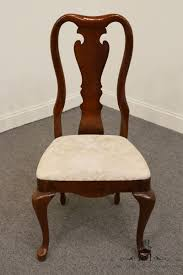 thomasville furniture collectors cherry queen anne dining side thomasville furniture collectors cherry queen anne dining side chair 10121 931 932