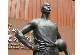 is this chinese statue of kobe bryant for real bleacher report