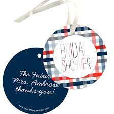 bridal shower favor tags favor tags for bridal showers custom designs from pear tree