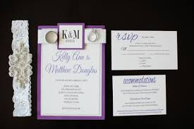 wedding invitations san diego a modern san diego hotel wedding with purple sparkling details