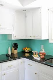 Green Kitchen Tile Backsplash Best 20 Painting Tile Backsplash Ideas On Pinterest Painted