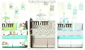 Baby Nursery Bedding Sets Neutral Owl Baby Crib Bedding Set Videozone Club