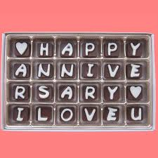 anniversary gifts for him 2 years happy anniversary i you cubic by what candy says on zibbet