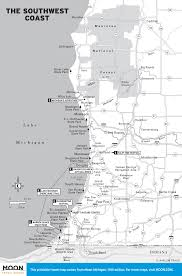 Michigan Road Map by Printable Travel Maps Of Michigan Moon Travel Guides