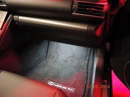 lexus is250 f sport led lights led door courtesy lights u0026 footwell lights installed lexus rc350