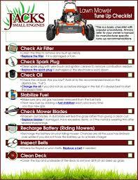 lawn mower tune up checklist jack u0027s diy