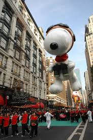 7 flying snoopy balloons from the macy s thanksgiving day parade