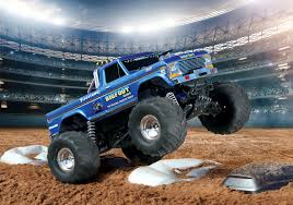 traxxas monster jam rc trucks traxxas bigfoot no 1 replica monster truck tra36034 1 u2013 dirt