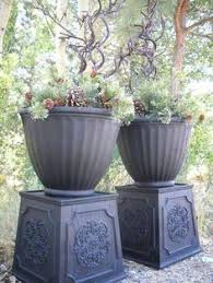 Ikea Outdoor Planters diy instant modern planters made out of 2 ikea 1 99 trash cans
