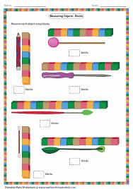 measuring length worksheets