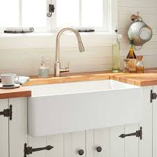 best kitchen sink for 30 inch base cabinet 30 reinhard fireclay farmhouse sink white
