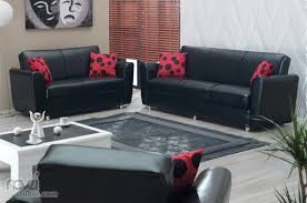Red Living Room Chairs Bedroom Furniture Black Modern Living Room Furniture Medium