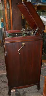 victrola record player cabinet victrola record player brass lantern antiques